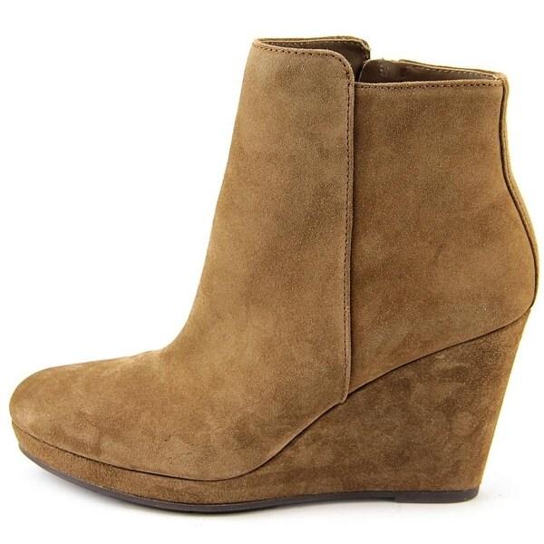 Via Spiga Womens Darina Suede Closed Toe Ankle Fashion Boots