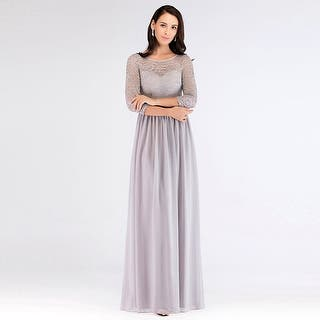 b8a40979995c Quick View. Option 47443035. Option 47443038.  69.99. Ever-Pretty Women s  Lace Long Sleeve Evening Party Bridesmaid Maxi Dress 07680 · Quick View