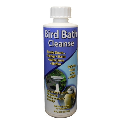 Auraco Bird Bath Cleanse, 8 Fluid Ounce [Lawn & Patio]