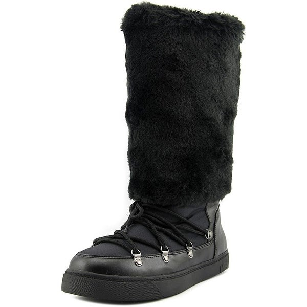 INC International Concepts Womens SOFFY Faux Fur Closed Toe Mid-Calf Cold Wea...