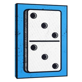 """PTM Images 9-108620  PTM Canvas Collection 10"""" x 8"""" - """"Domino"""" Giclee Sports and Hobbies Art Print on Canvas"""