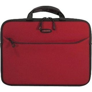 "Mobile Edge Slipsuit Sleeve 16"" Cushioned Eva Crimson Red"