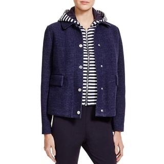 Tory Burch Womens Jacket Knit Hooded