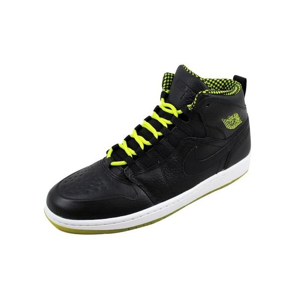 Shop Nike Men s Air Jordan I 1 Retro 94 Black Venom Green-Black ... 80e68f318
