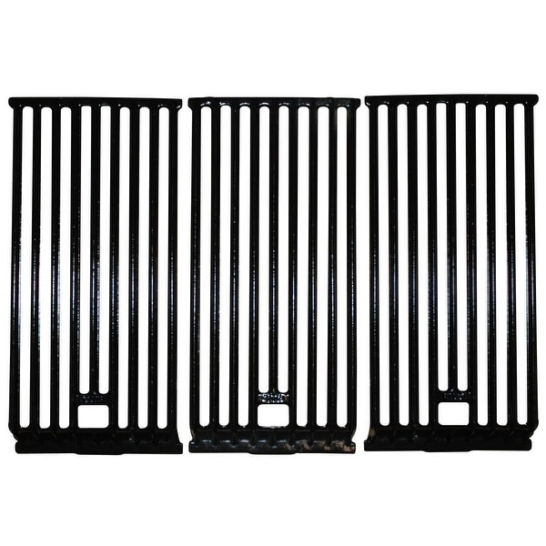 "3pc Gloss Cast Iron Cooking Grid for Broilmaster Gas Grills 21.75"" - N/A"