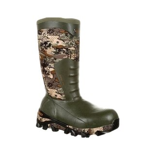 Rocky Outdoor Boots Mens Claw Insulated Waterproof Camo RKS0329