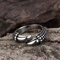 Vienna Jewelry Open Ended Stainless Steel Ring - Thumbnail 2