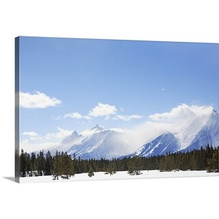 """Grand Teton National State Park"" Canvas Wall Art"
