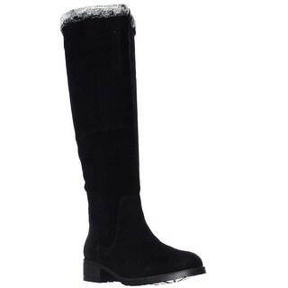 STEVEN by Steve Madden Chille Tall Winter Boots - Black