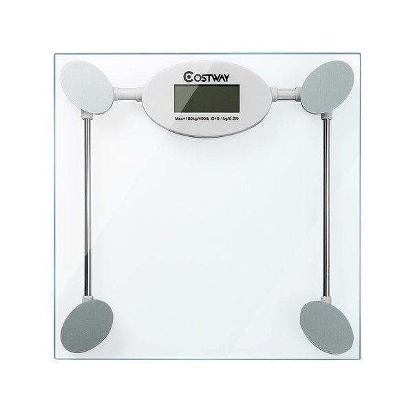 396 lb Personal Bathroom Glass Digital Weight Scale