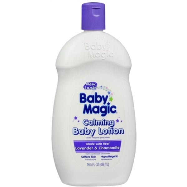 Baby Magic Calming Baby Lotion Lavender and Chamomile 16.50 oz