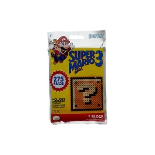 Perler Fused Bead Trial Kit 278pc SMB3 Coin Box