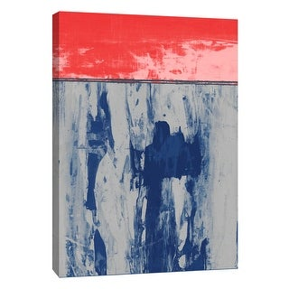 "PTM Images 9-105302  PTM Canvas Collection 10"" x 8"" - ""Squeegeescape 25"" Giclee Abstract Art Print on Canvas"