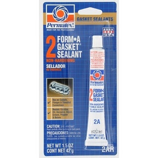Permatex 80015 Form A Gasket Sealant No.2, 1.5 Oz