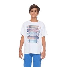 Tween Boy T-Shirt Graphic Tee Kids Skater Clothes Summer Pulla Bulla 10-16 Years