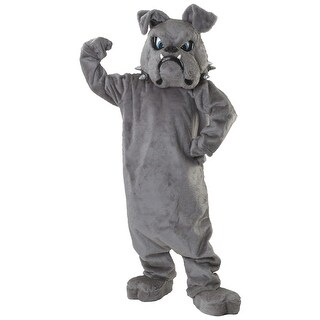 Bulldog Mascot Costume