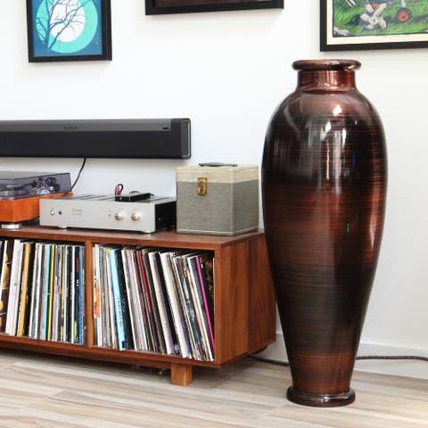 Copperworks Urn Floor Vase
