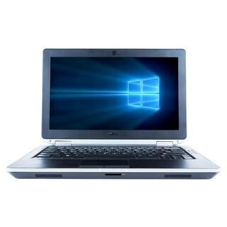 "Refurbished Laptop Dell Latitude E6320 13.3"" Intel Core i5-2520M 2.5GHz 4GB DDR3 320GB Windows 10 Pro 1 Year Warranty - Black"