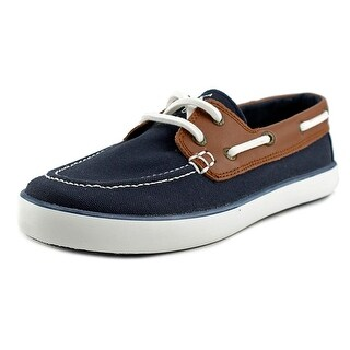Polo Ralph Lauren Sander Moc Toe Canvas Boat Shoe