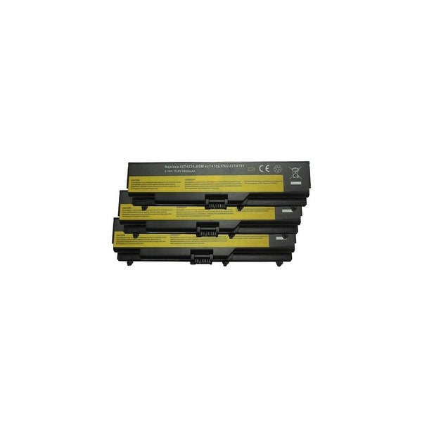 """Lenovo 42T4235 (3-Pack) Replacement Battery"""