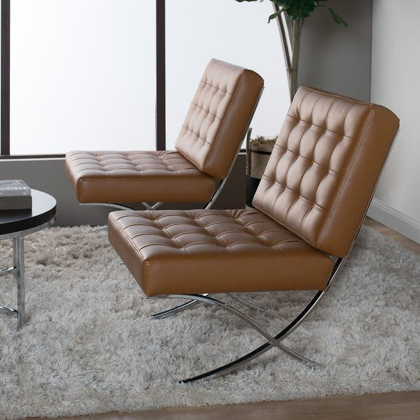 Admirable Shop Offex Home Atrium Bonded Leather Chair In Caramel Pabps2019 Chair Design Images Pabps2019Com