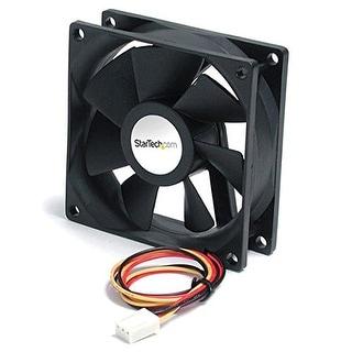 Startech.Com 60X20mm Replacement Ball Bearing Computer Case Fan With Tx3 Connector Fan6x2tx3 (Black)