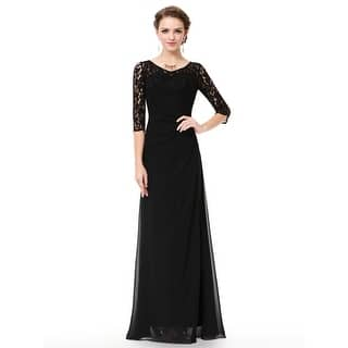 d93daac8a7e Quick View.  59.99. Ever-Pretty Women s Lace Long Sleeve Floor Length  Evening Gown 08861. 3 of ...