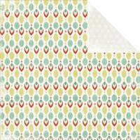 """Jingle Bells - Mistletoe Double-Sided Cardstock 12""""X12"""" (10/Pack)"""