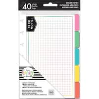 Brights; 5 Designs/8 Each - Happy Planner Sticky Notes 40/Pkg