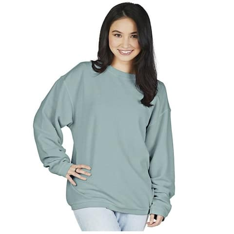 Charles River Apparel Womens Rib Knit Crew