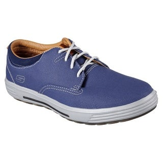 Skechers 64943 BLU Men's PORTER-ZEVELO Oxford