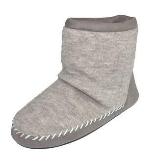 Totes Women's Microsuede & Heather Knit Marisol Boot Slipper https://ak1.ostkcdn.com/images/products/is/images/direct/93dc9f6dcb84d20962c071ebb951ff1d27145c81/Totes-Women%27s-Microsuede-%26-Heather-Knit-Marisol-Boot-Slipper.jpg?impolicy=medium