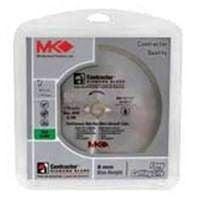 Mk Diamond Contractor 7In Wet Tile Blade 167029