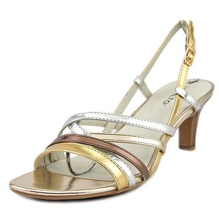Rialto Christen Women Open Toe Synthetic Multi Color Sandals