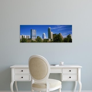 Easy Art Prints Panoramic Images's 'Skyscrapers, South Congress, South Congress Avenue, Austin, Texas' Canvas Art