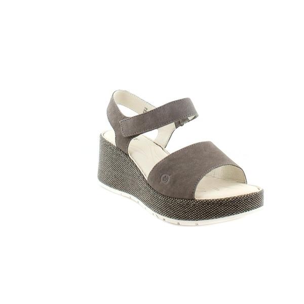 Born Lucee Women's Sandals & Flip Flops Grigio