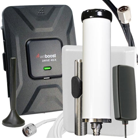 Marine/Vehicle weBoost Drive 4G-X 2-in-1 Cell Signal Booster 470510