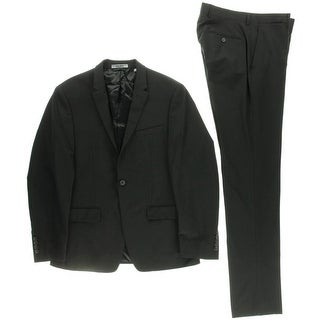 DKNY Mens Wool 2PC One-Button Suit
