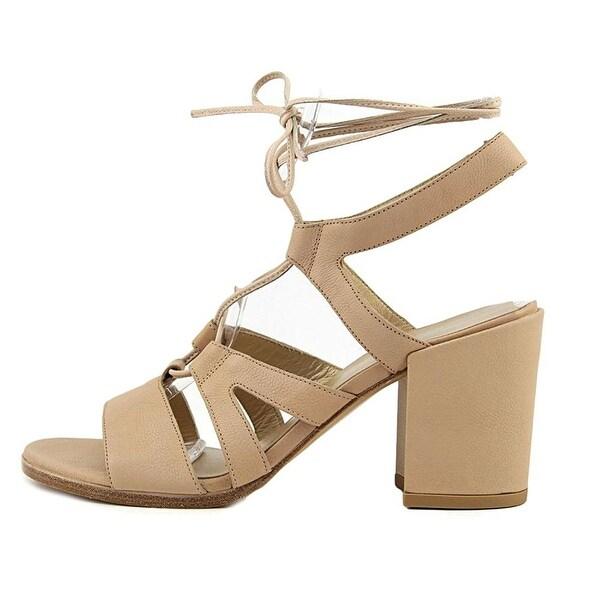 Stuart Weitzman Womens Tie Girl Bingo Leather Open Toe Casual Strappy Sandals - 10