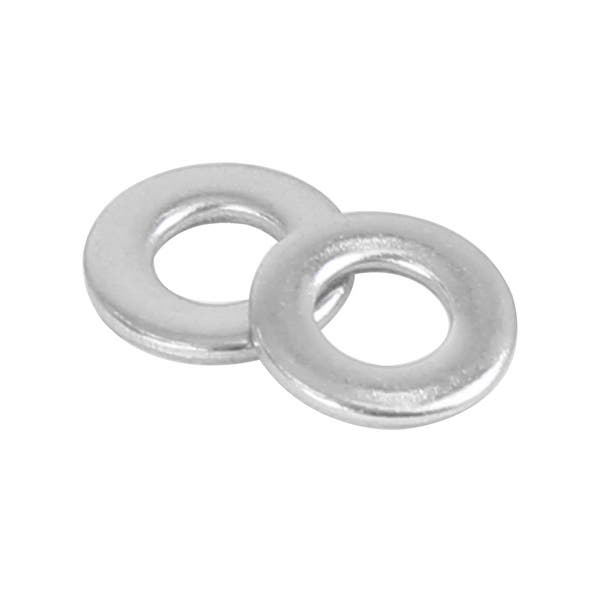 M4 Stainless Steel Flat Washers 9Mm Od 316 100// Seachoice 01231