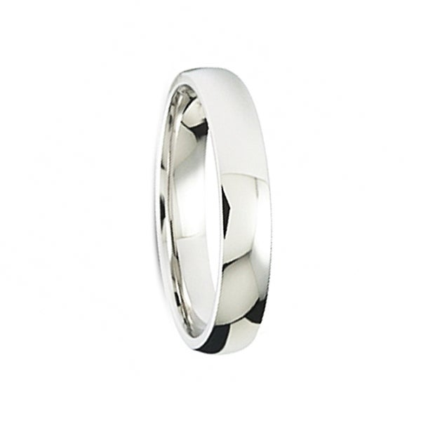 High Polished Finish Women's Cobalt Wedding Band by Crown Ring - 3mm