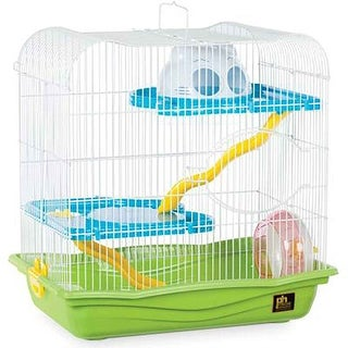 "Prevue Pet Hamster Haven-Green Base 17 3/4""L x 11 3/4""W x 17 3/4""H - SP2004-GR"