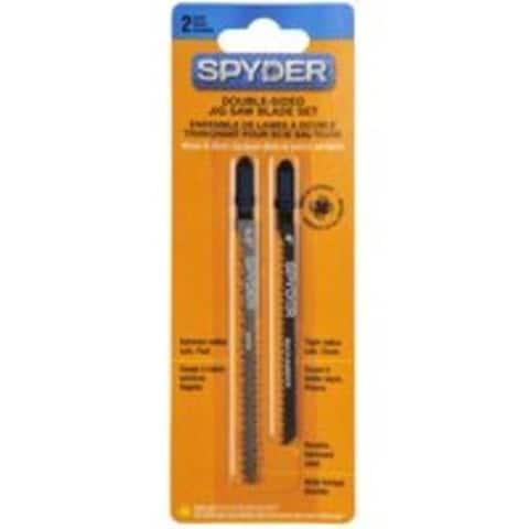 Spyder 300009 Combo Jigsaw Blade Set 2 Pc