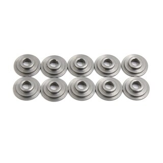 10 Pcs Gray Titanium Motorcycle Exhaust Valve Spring Retainers Fit For CG125
