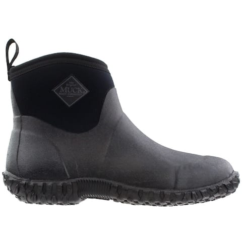 Muck Boot Muckster Ii Ankle Pull On Mens Boots Ankle - Black