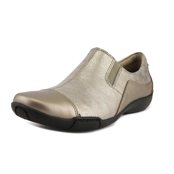 Array Whirlwind Women N/S Square Toe Synthetic Gray Loafer
