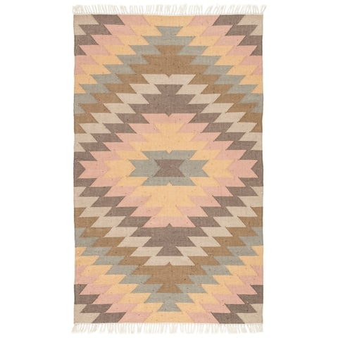 Sahara Indoor/ Outdoor Geometric Area Rug