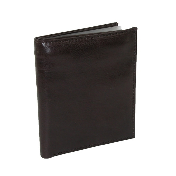 Paul & Taylor Men's Leather Deluxe Hipster Bifold Wallet - One size