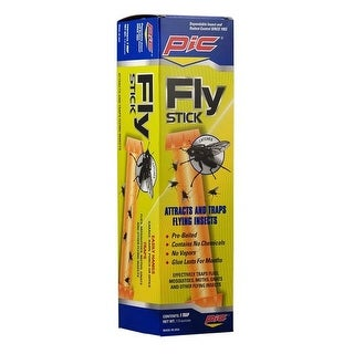PIC FSTIK-W Fly Stick Trap, 1-1/2 Oz