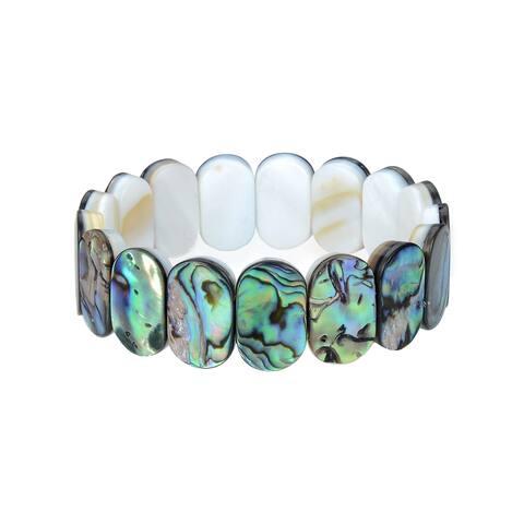 Abalone Shell Stretchable Bracelet